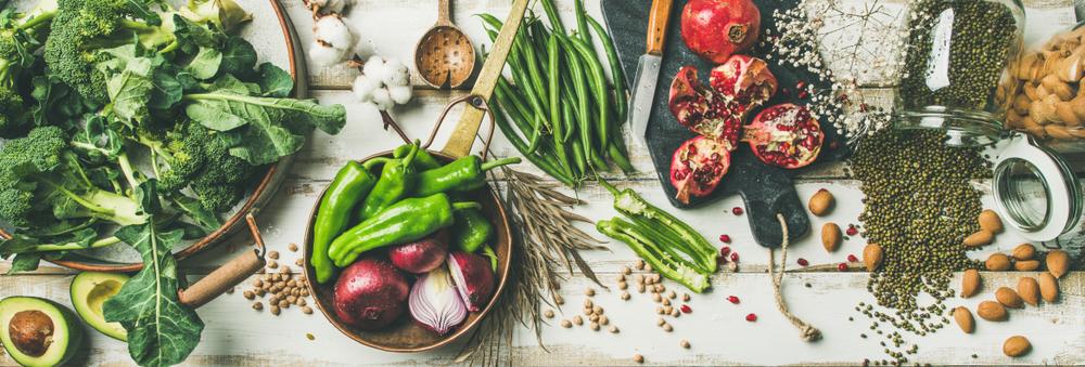 ベジタリアンレシピー栄養素