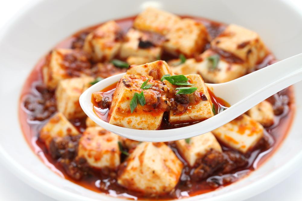 ベジタリアンレシピー麻婆豆腐